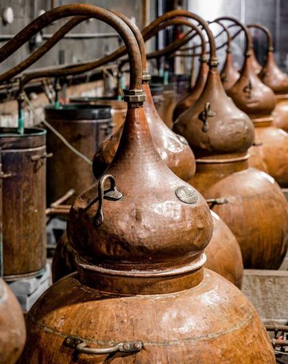Rude Mechanicals copper Stills