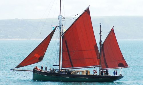 Salcombe Fruiter Ship