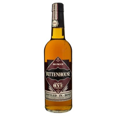 Rittenhouse Straight Rye Whiskey <small>70cl 50%</small>
