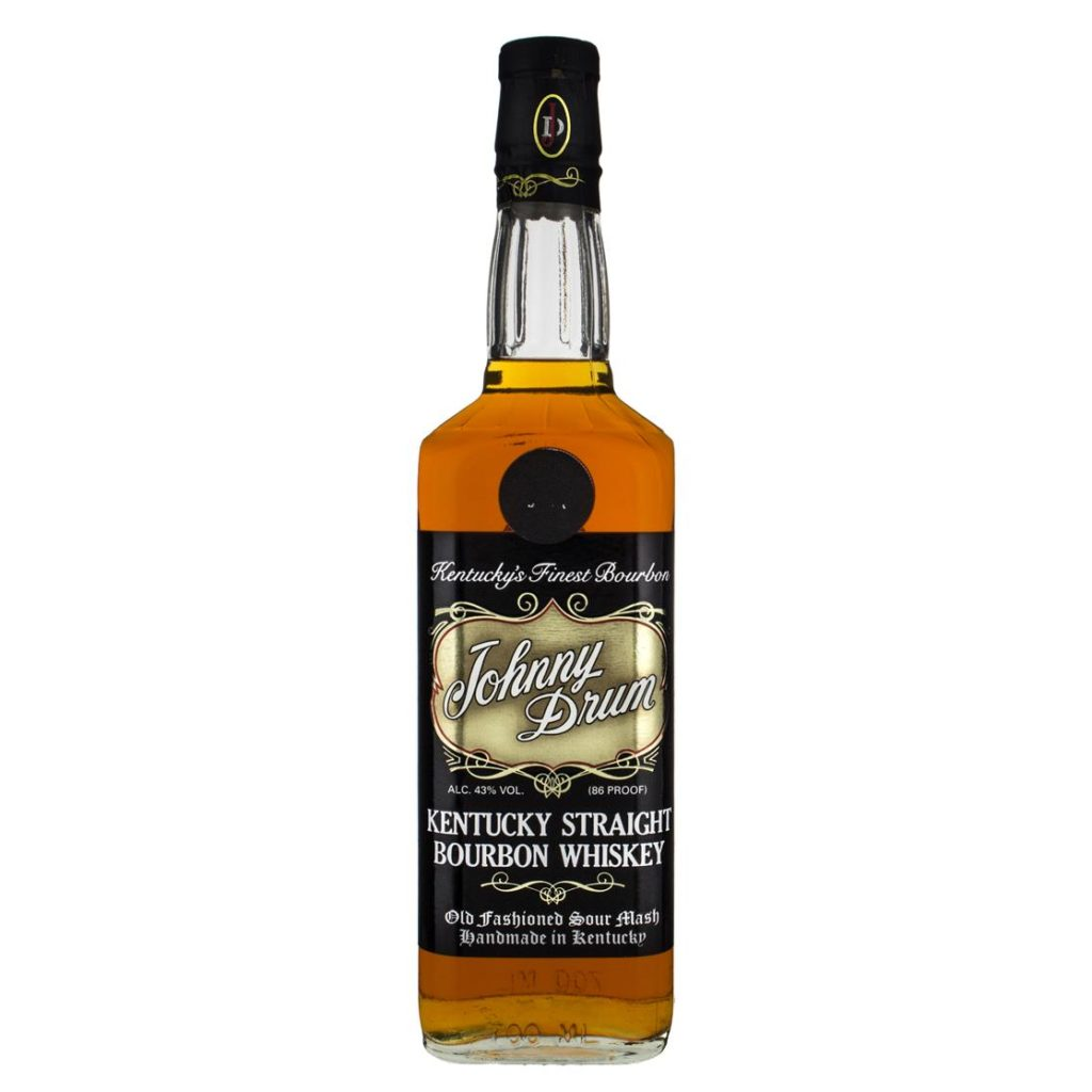 Johnny Drum Black Label Whiskey