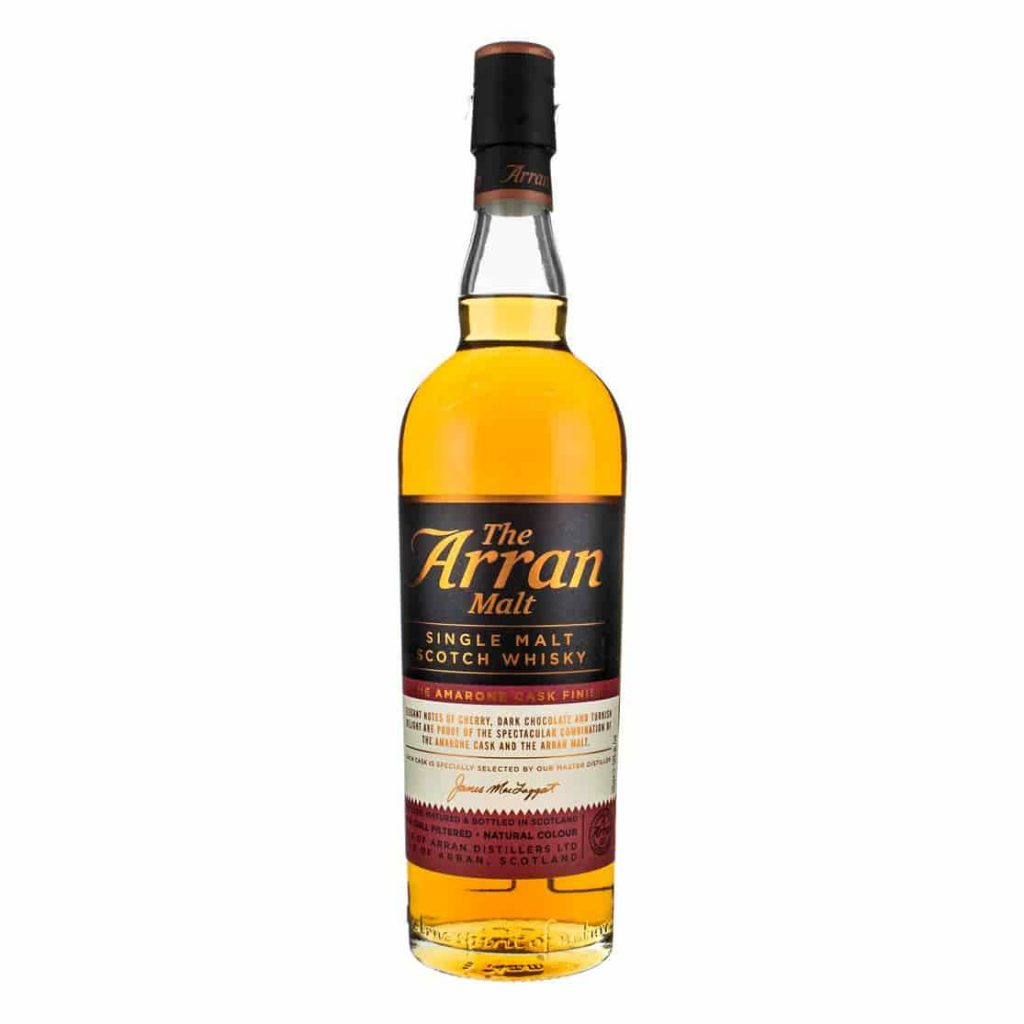 Arran Amarone Cask bottle
