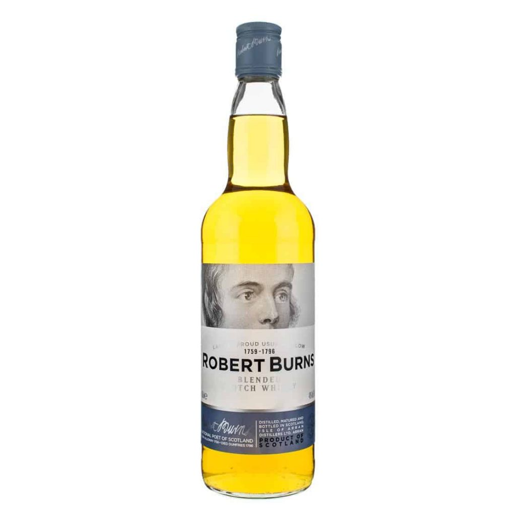 Robert burns bottle