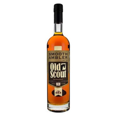 Old Scout Smooth Ambler 7 Year Old Whiskey
