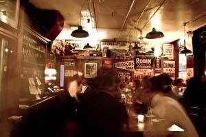 London Gin Club cocktail bar interior