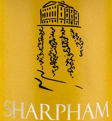Sharpham DVR Label