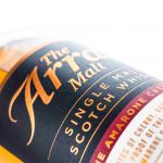 Arran Amarone Cask bottle close up front