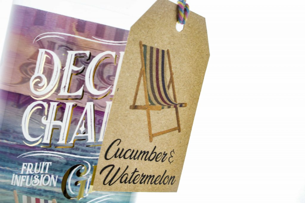 Deck Chair Cucumber and Watermelon Wonky