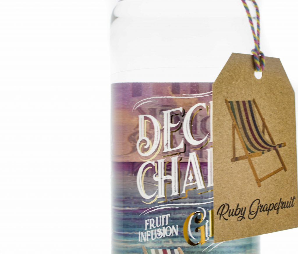 Deck Chair Ruby Grapefruit Close Up