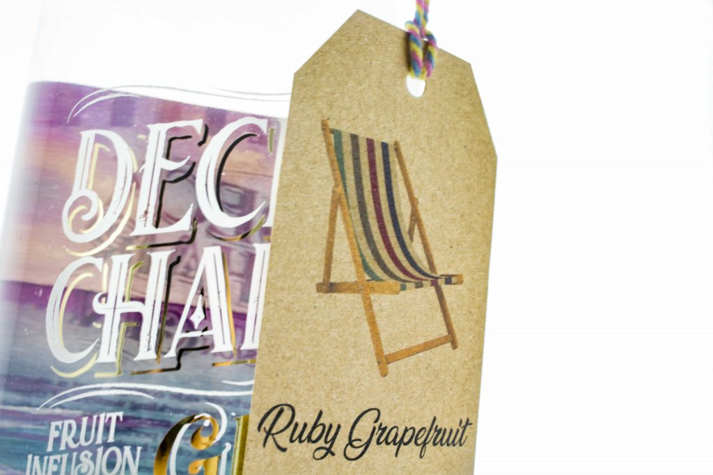 Deck Chair Ruby Grapefruit Wonky