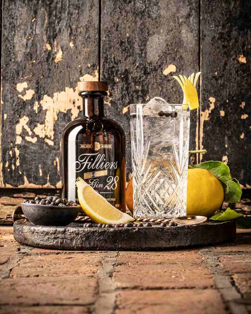 Filliers Dry with G and t