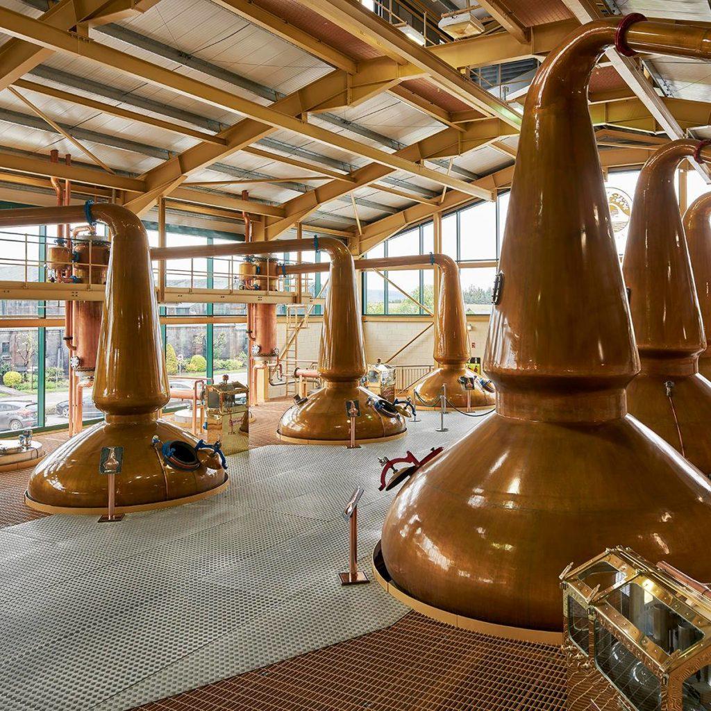 Glenlivet copper stills