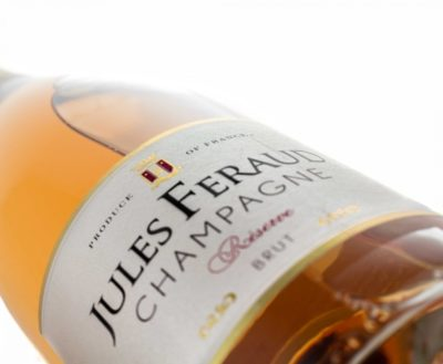 Jules Feraud Rose front label 50