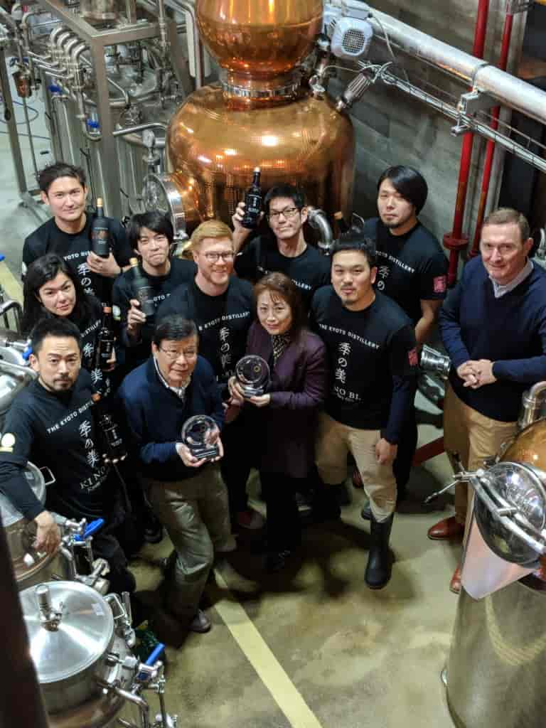 Kyoto Distillery Team