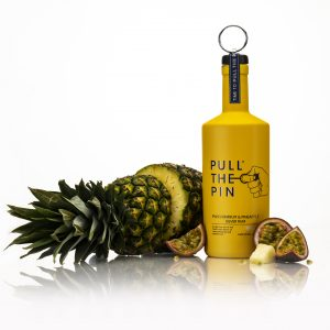 Passionfruit and Pineapple with pineapple