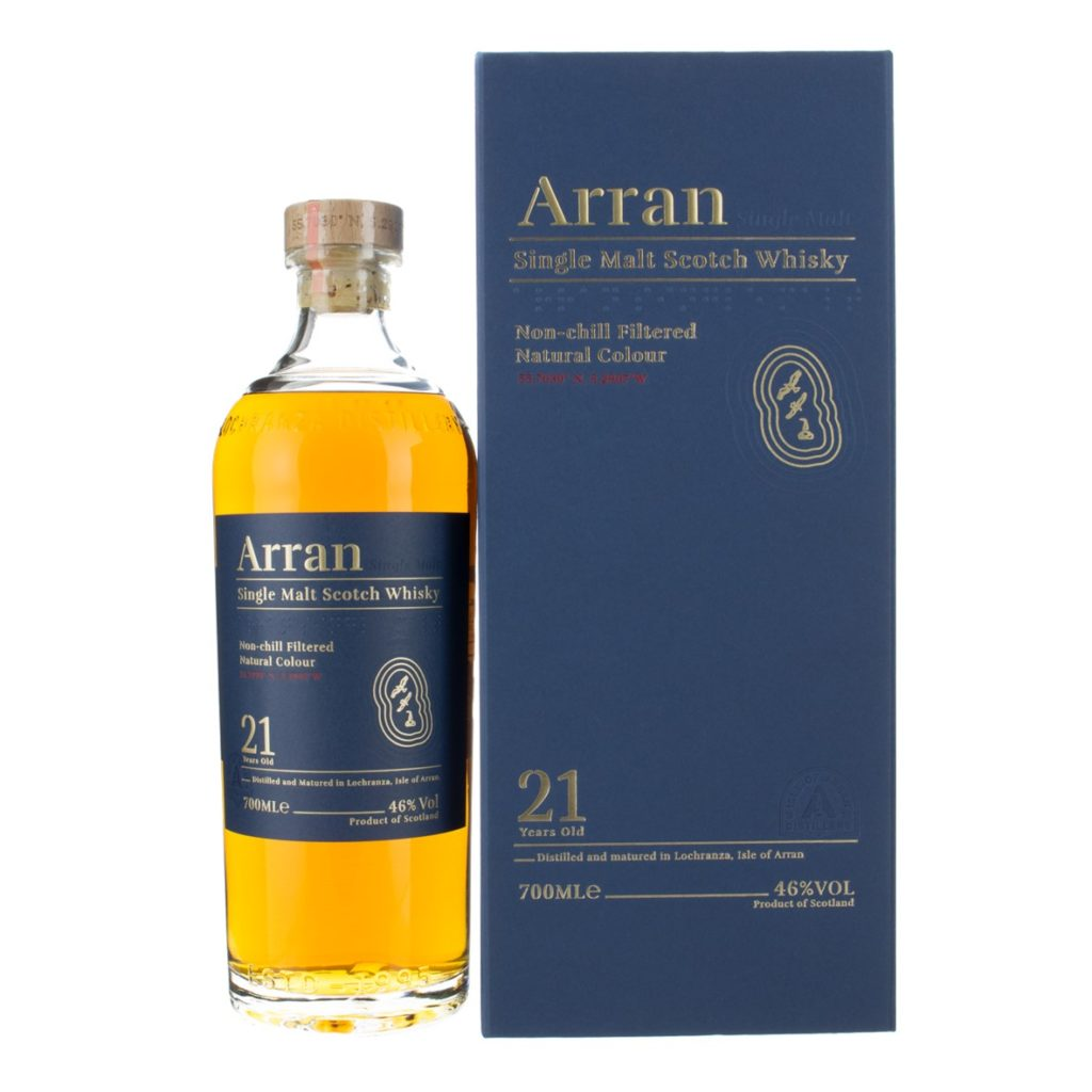 Arran 21 Bottle and box