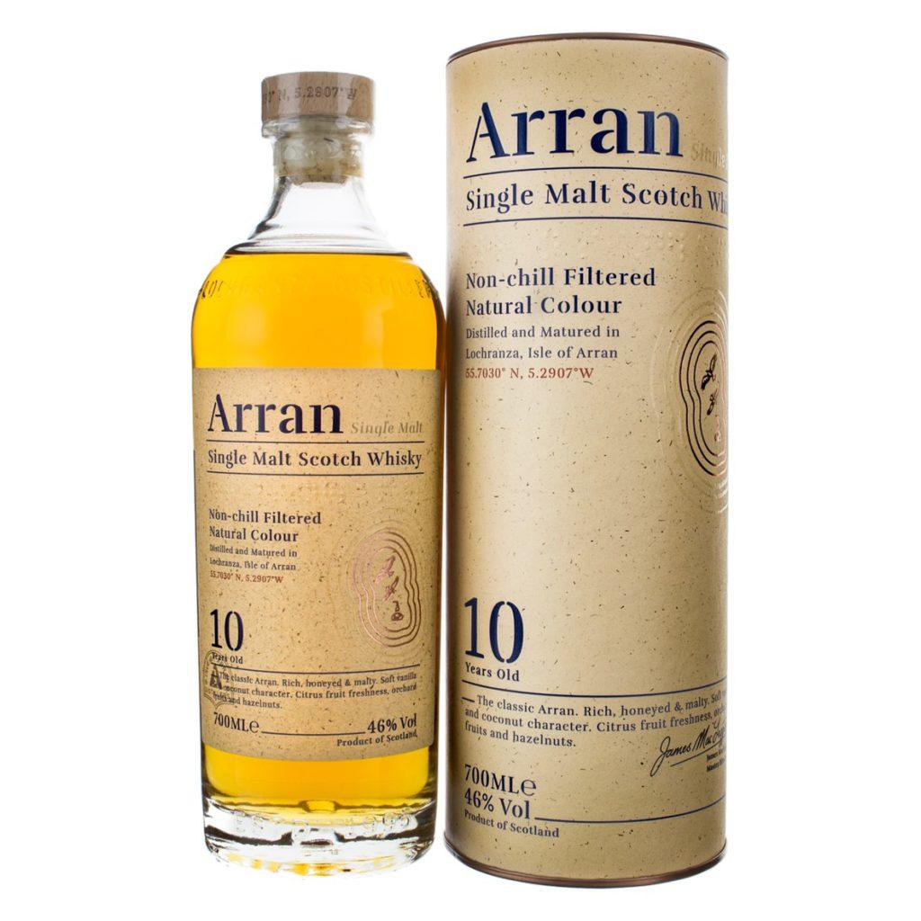 Arran Single Malt 10 with box