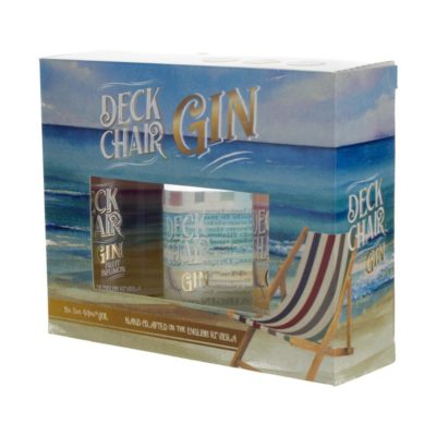 Deck Chair Gift Set Angled left