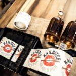 Nailbiter Rum labelling machine