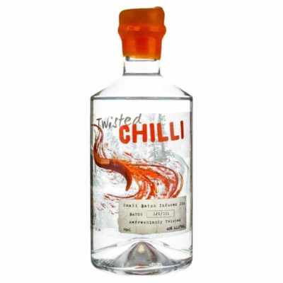 Gin Jar Twisted Chilli Gin white background