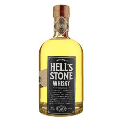 Hell's Stone Whisky on White background