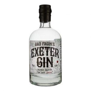 Bad Fagins Exeter Gin on white background