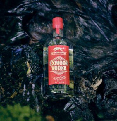 Wicked Wolf Exmoor Vodka on rocks