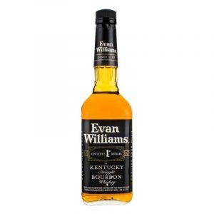Evan WIlliams Whisky white background