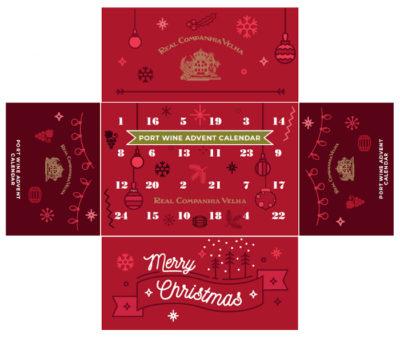 Port Calendar Box Flat