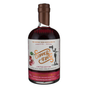 Limited Edition Copper Frog Cherry Gin